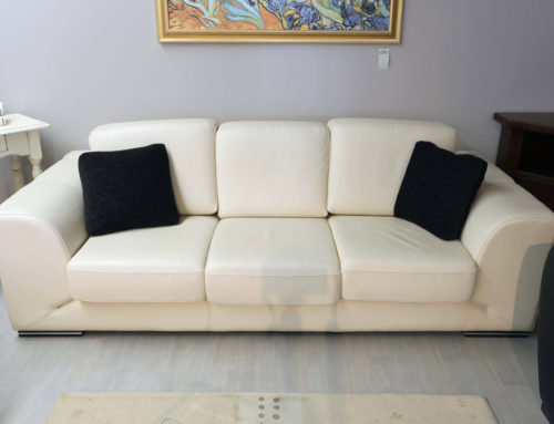 Divano in pelle outlet – 990€